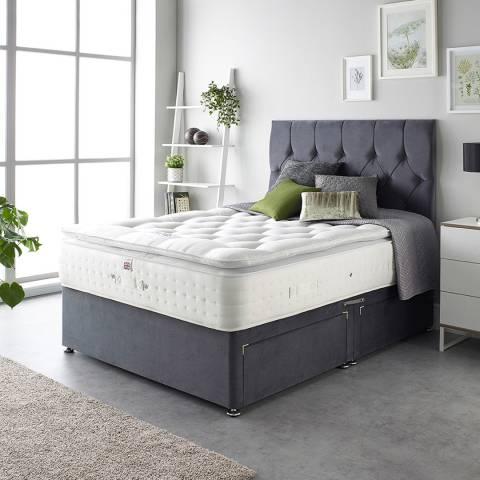 Aspire Furniture Cashmere 1000 Pocket Pillowtop Mattress Super King