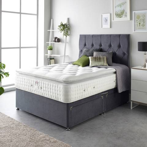 Aspire Furniture Alpaca Silk 3000 Pocket Pillowtop Mattress Double