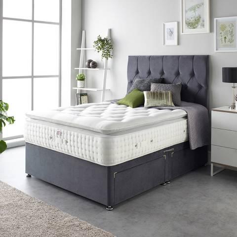 Aspire Furniture Alpaca Silk 3000 Pocket Pillowtop Mattress King