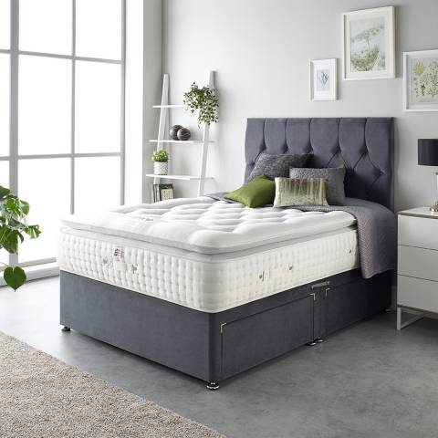 Aspire Furniture Alpaca Silk 5000 Pocket Pillowtop Mattress Single
