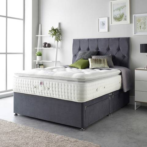 Aspire Furniture Alpaca Silk 5000 Pocket Pillowtop Mattress Small Double