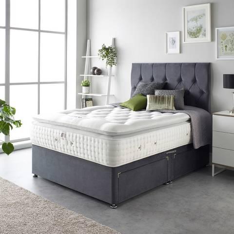 Aspire Furniture Alpaca Silk 5000 Pocket Pillowtop Mattress Double