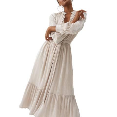 Melissa Odabash White JoJo Midi Dress