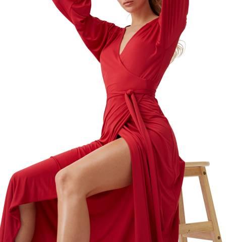Melissa Odabash Red Libby Maxi Dress