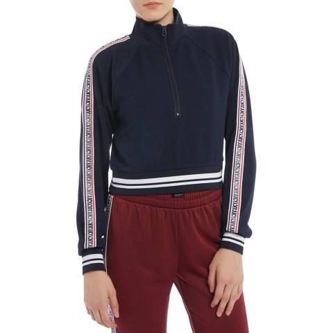 Juicy Couture Navy Half Zip Sweatshirt