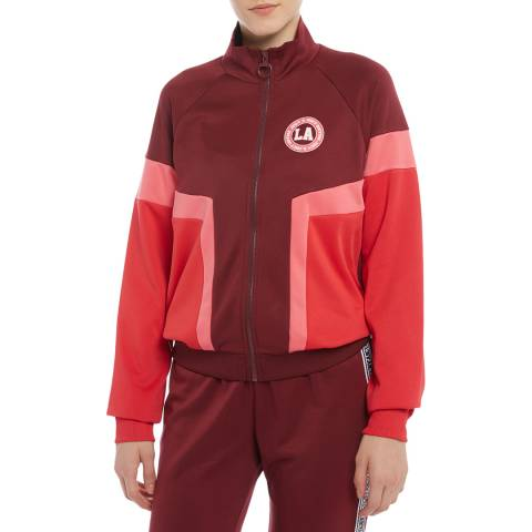 Juicy Couture Maroon Full Zip Sweatshirt