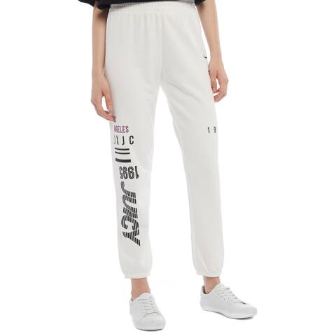 Juicy Couture White Logo Joggers