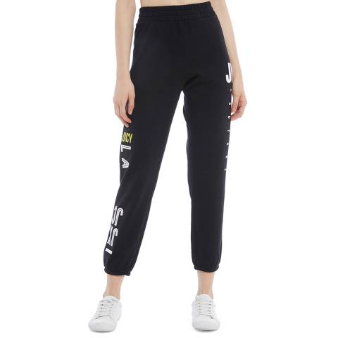 Juicy Couture Black Logo Joggers
