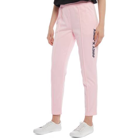 Juicy Couture Pink logo Joggers
