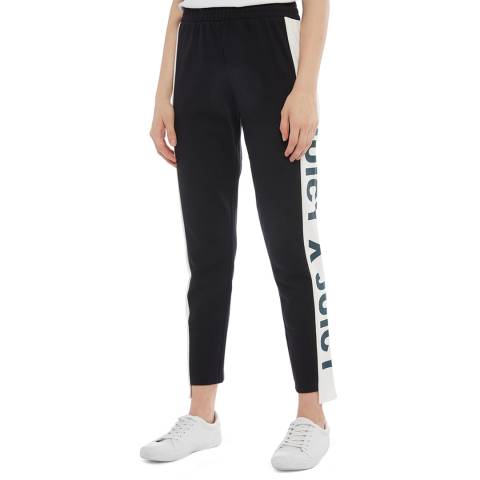 Juicy Couture Black Side Panel Logo Joggers