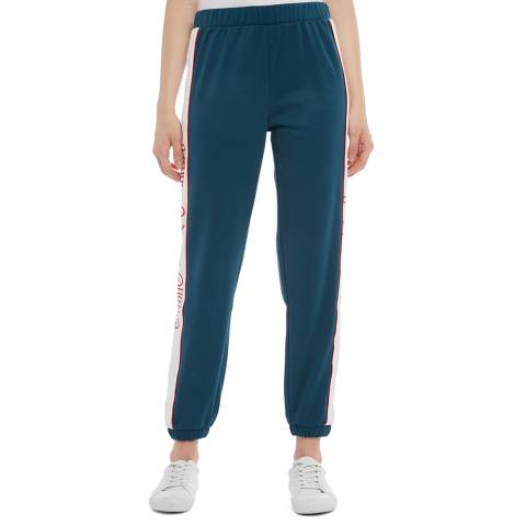 Juicy Couture Blue Side Logo Joggers