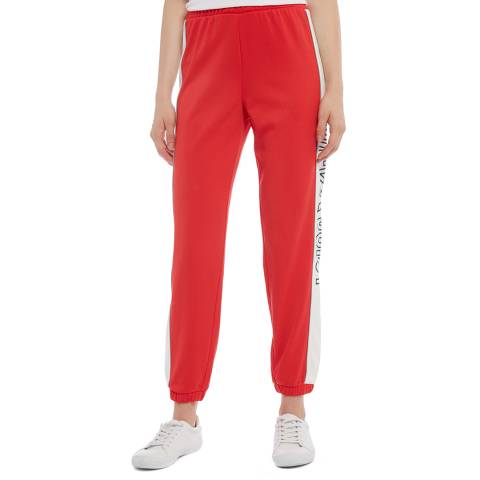 Juicy Couture Red Side Logo Joggers