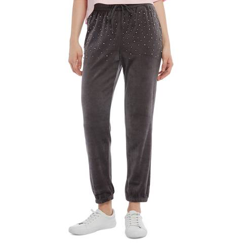 Juicy Couture Charcoal Silver Bead Joggers