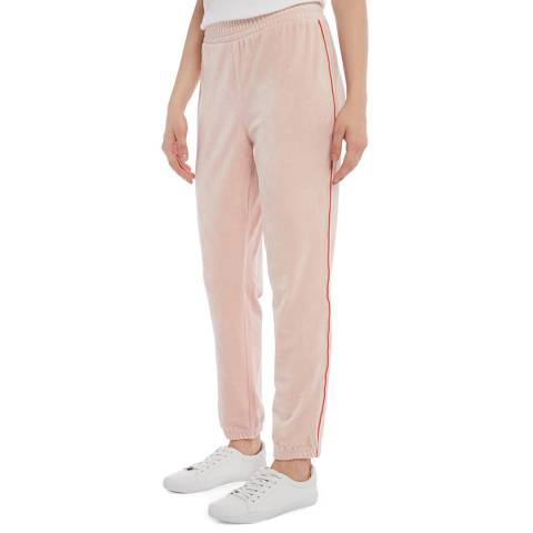 Juicy Couture Light Pink Side Stripe Joggers