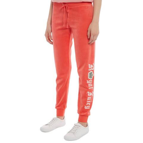 Juicy Couture Red Skinny Royal Juicy Joggers