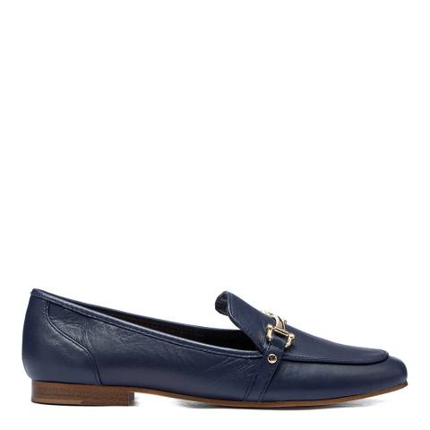 Aldo Navy Leather Astawia Loafers