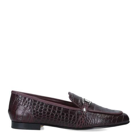 Aldo Burgundy Leather Astawia Loafers