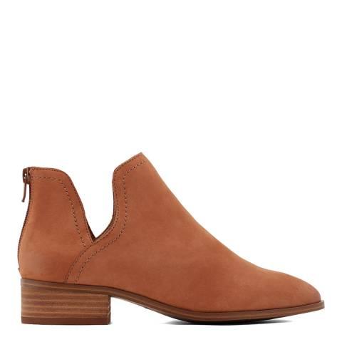 Aldo Tan Leather Kaicia Ankle Boots