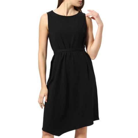 STEFANEL Black Mid Length Dress