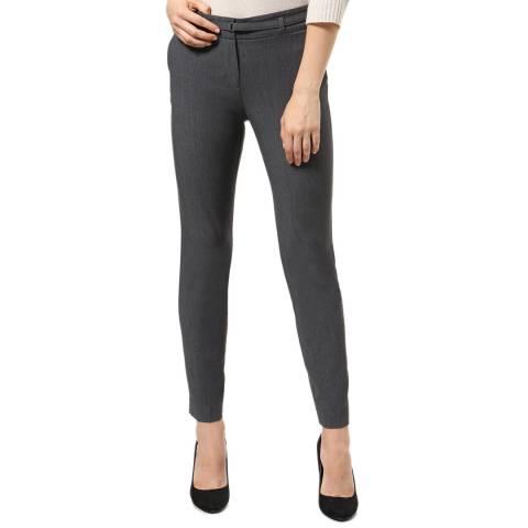 STEFANEL Grey Skinny Fit Trousers