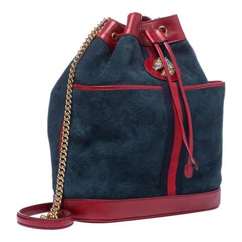 Gucci Navy/Red Crossbody Bag