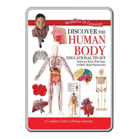 Wonders of Learning Human Body Tin Set