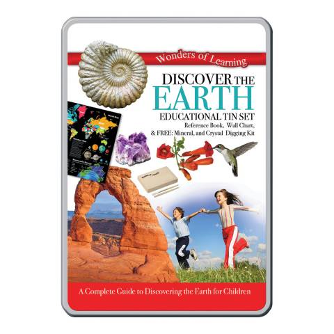 Wonders of Learning Earth Tin Set
