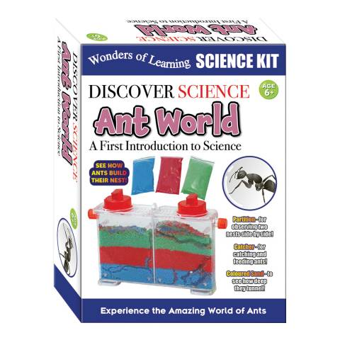 Wonders of Learning Ant World Science Box