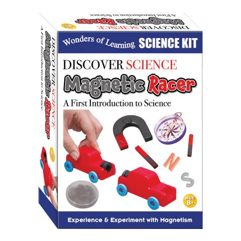 Wonders of Learning Magnet Racer Science Box