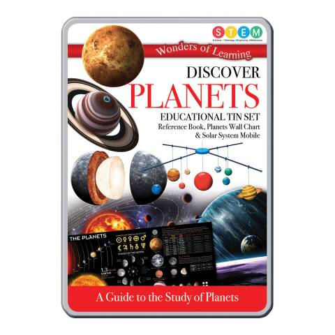 Wonders of Learning Planets Tin Set