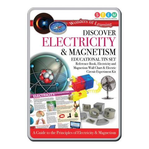 Wonders of Learning Electricity And Magnets Tin Set