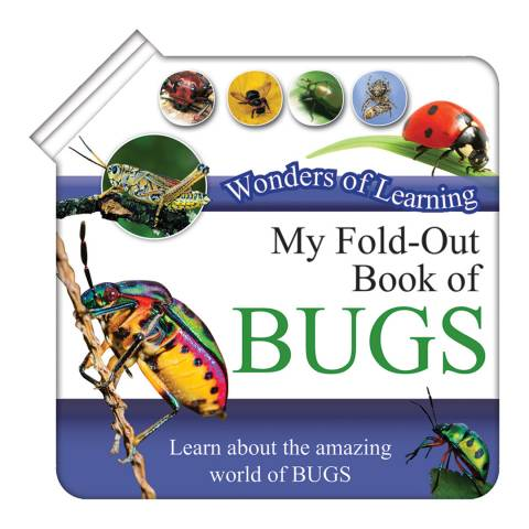Wonders of Learning Bugs Fold Out  Book