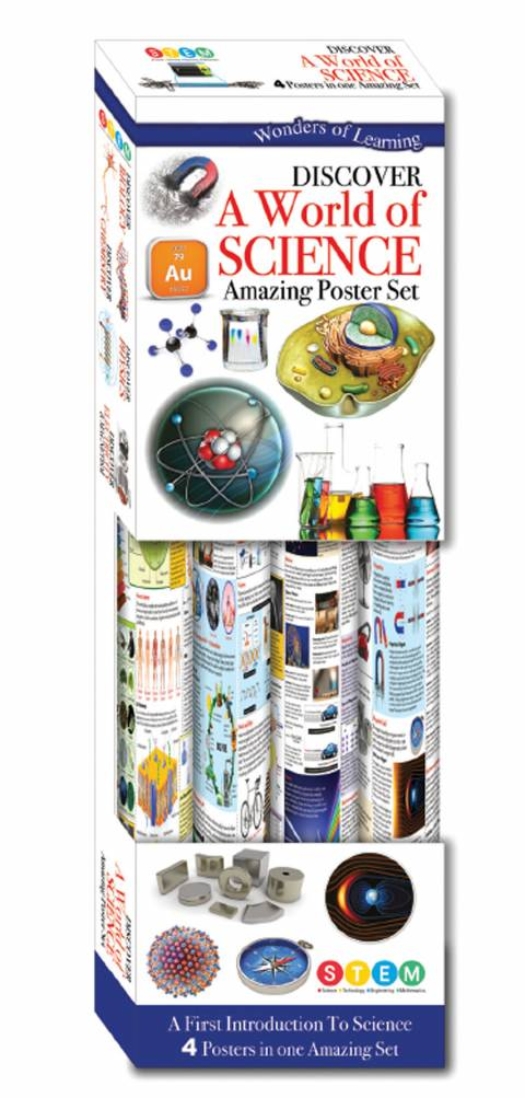 Wonders of Learning Science Poster Box Set