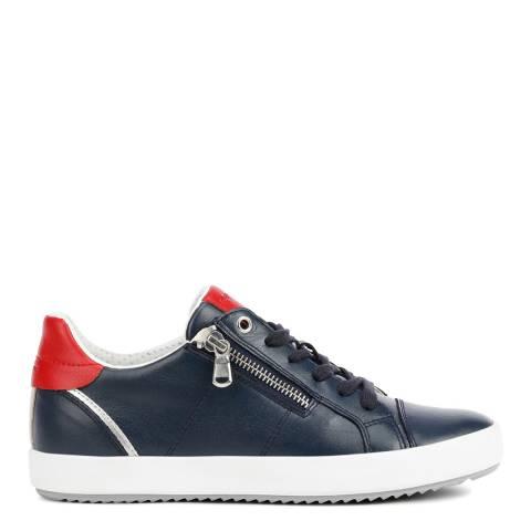 Geox Navy/Red Blomiee Sneakers