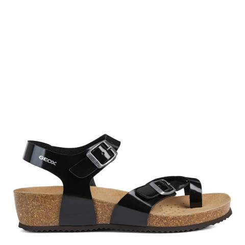 Geox Black Sthellae Sandals