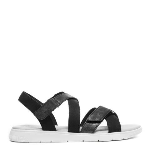 Geox Black Dandra Sandals