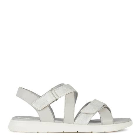 Geox Off White Dandra Sandals
