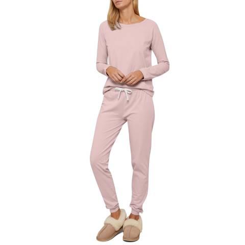 N°· Eleven Pink Cotton Jersey Lounge Set