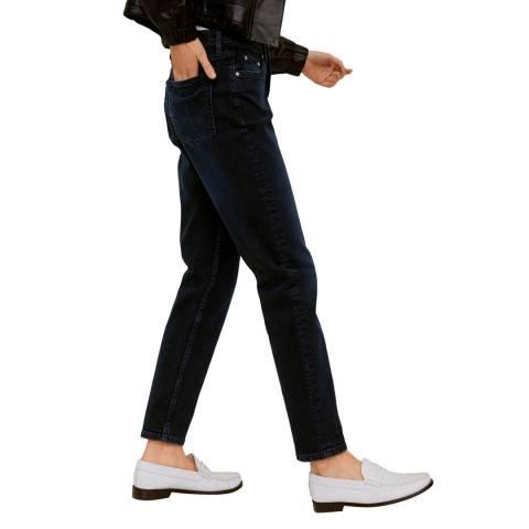 Mango Deep Dark Blue Slim-Fit Jeans