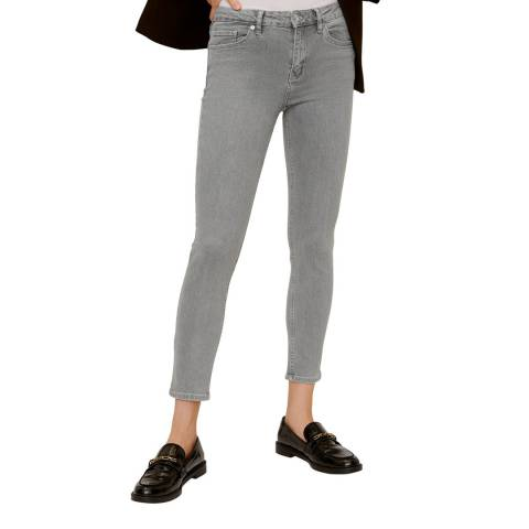 Mango Denim Grey Skinny Sculpt Jeans