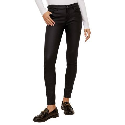 Mango Black Kim Skinny Push-Up Jeans