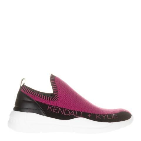 Kendall + Kylie Fuschia Nella Slip On Sneakers