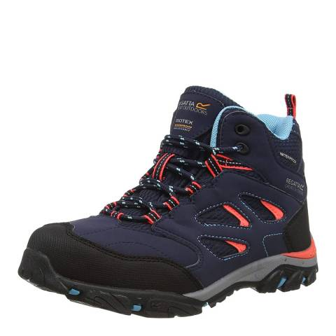 Regatta Navy/Fiery Coral Holcombe IEP Boots