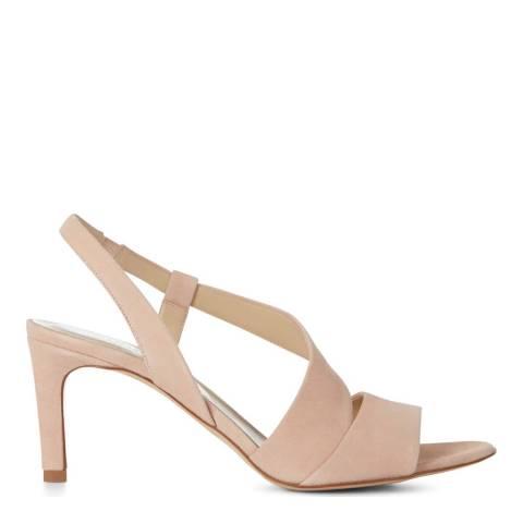 Hobbs London Leah Sandal Blush Fine Suede Sandals