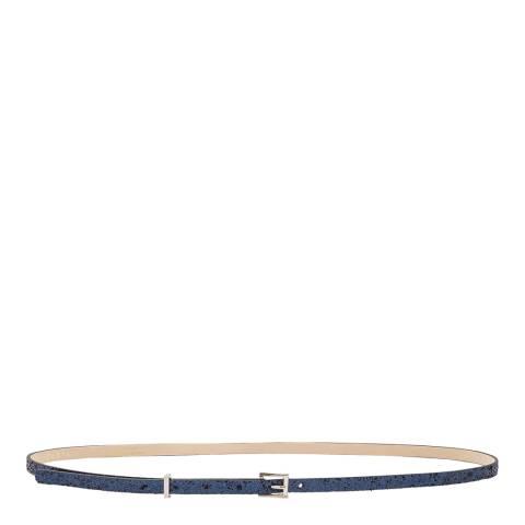 Gerard Darel Blue Slim Belt