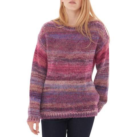 Gerard Darel Pink Wool Blend Winter Jumper