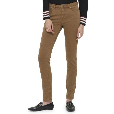 Gerard Darel Brown Skinny Stretch Jeans
