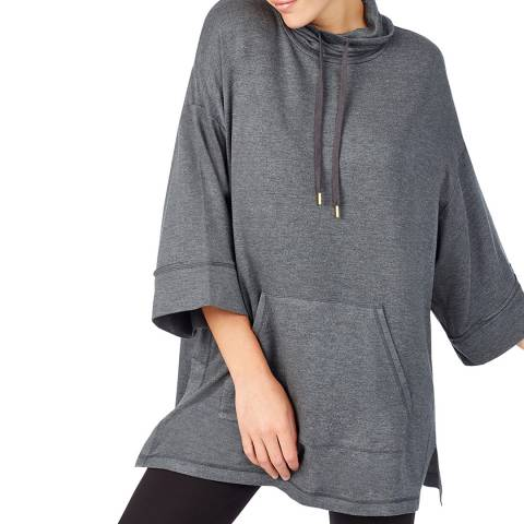 Donna Karan Grey Modern Comforts Poncho