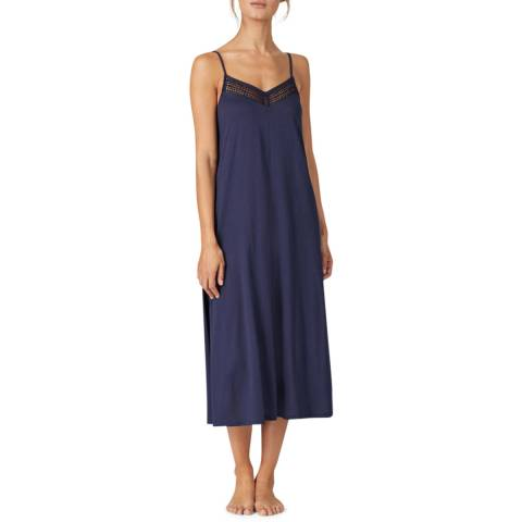 Donna Karan Ink Cotton Lux Maxi Chemise