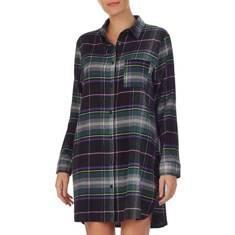 DKNY Purple 100% Dkny Sleepshirt